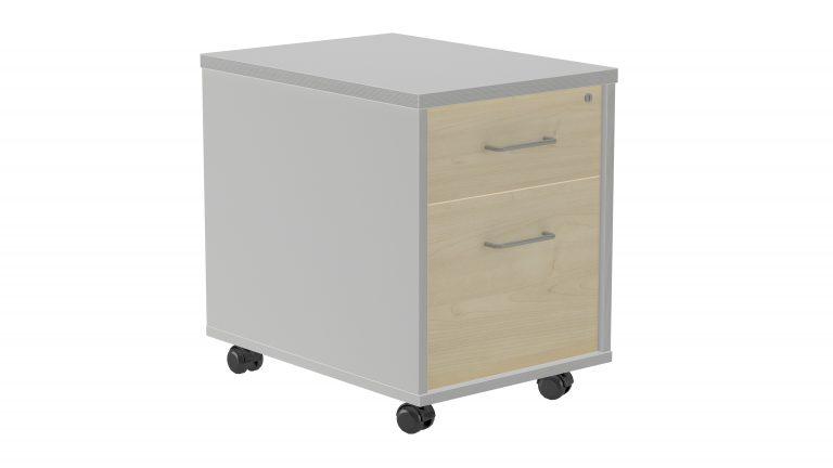 Buc cajón + archivo con ruedas, comunes WK, XC, LX y MT
