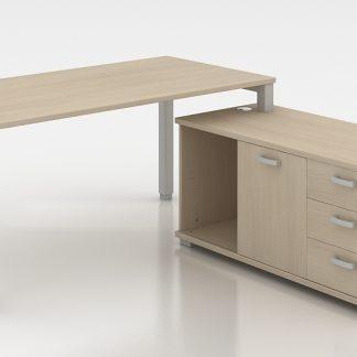 Conjunto mesa + armario TMP